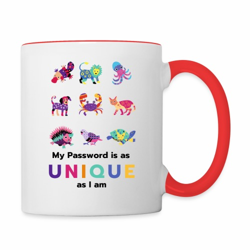 Make your Password as Unique as you are! - Contrast Coffee Mug