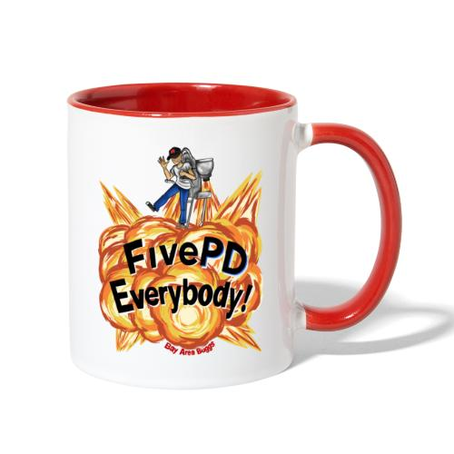 It's FivePD Everybody! - Contrast Coffee Mug