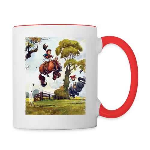 PonyRodeo Thelwell Cartoon - Contrast Coffee Mug