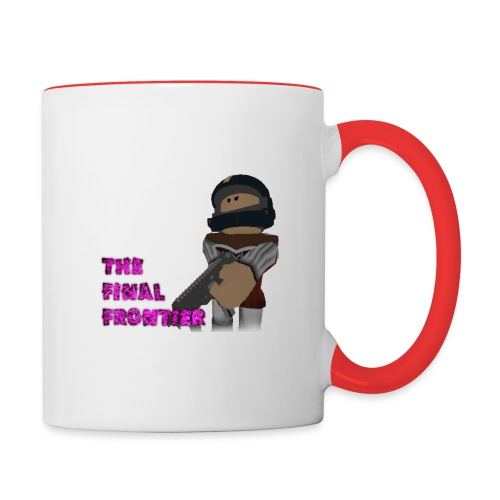The Final Frontier - Contrast Coffee Mug