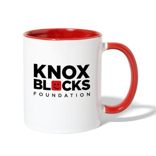 knoxblockslogo4color - Contrast Coffee Mug