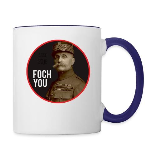 Foch You Black Label - Contrast Coffee Mug