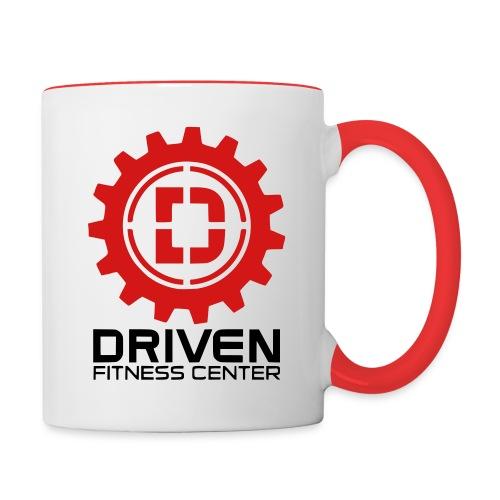 Stacked Logo - Contrast Coffee Mug