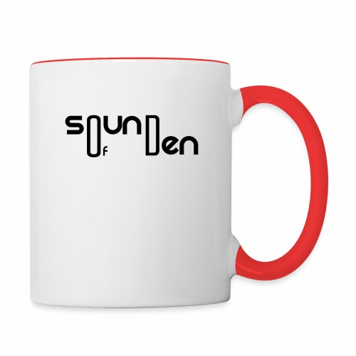 Soundofden Classical Black Logo - Contrast Coffee Mug