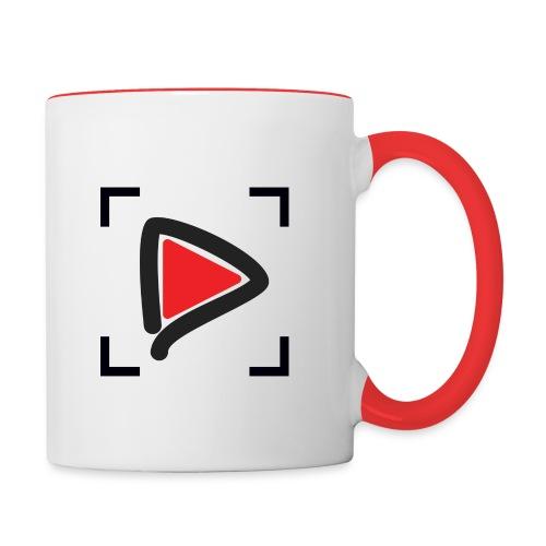 HTMGV play, clear - Contrast Coffee Mug