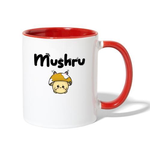 Mushru (k) - Contrast Coffee Mug