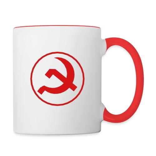 Soviet Union Symbol - Axis & Allies - Contrast Coffee Mug