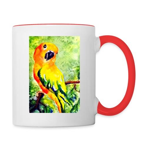 conure jpeg - Contrast Coffee Mug