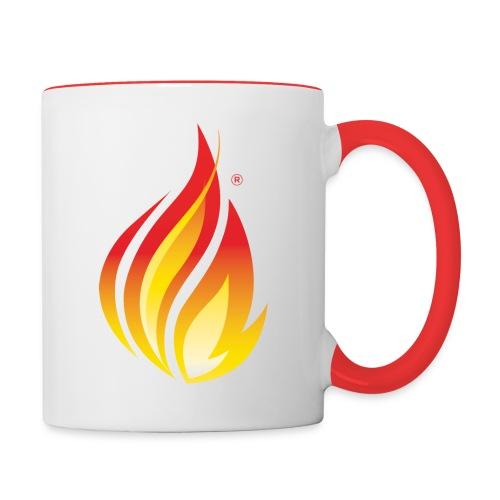 HL7 FHIR Flame Logo - Contrast Coffee Mug