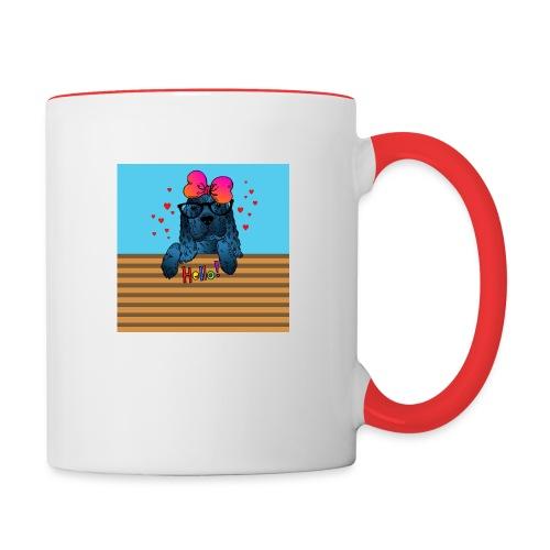 Hello Bella! - Contrast Coffee Mug