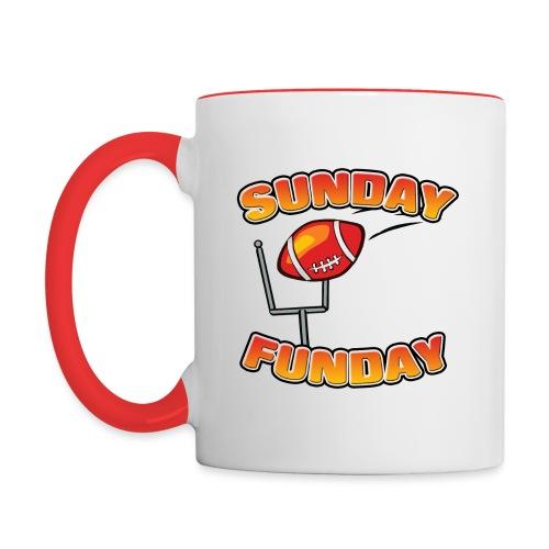 Sunday Funday - Contrast Coffee Mug