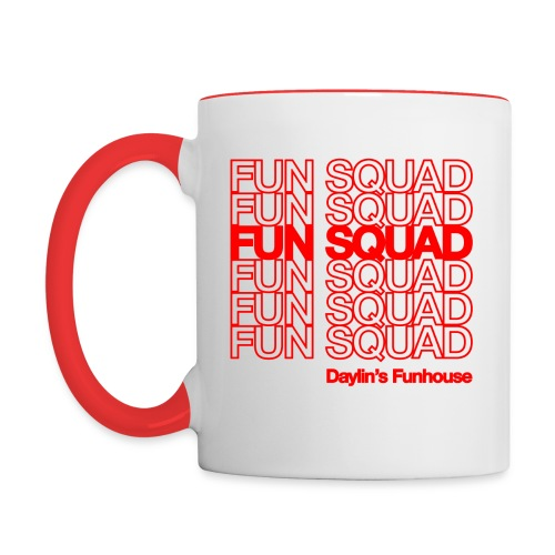 Fun Squad - Contrast Coffee Mug