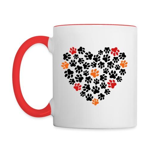 Animal Love - Contrast Coffee Mug