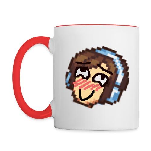 Lewd print png - Contrast Coffee Mug