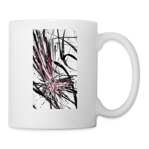 Original Abstract Samsung Galaxy S6 Rubber Case - Coffee/Tea Mug