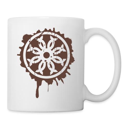 Splatter Crest - Coffee/Tea Mug
