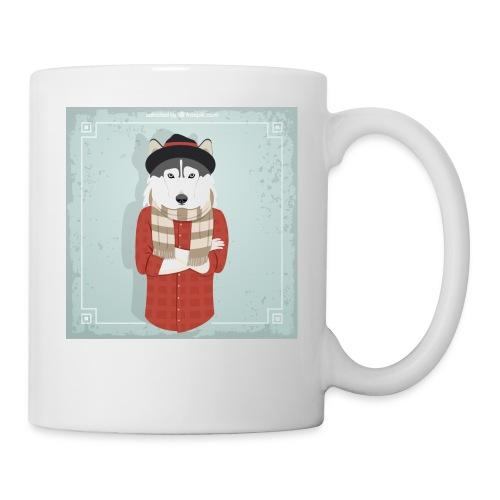 Hispter Dog - Coffee/Tea Mug