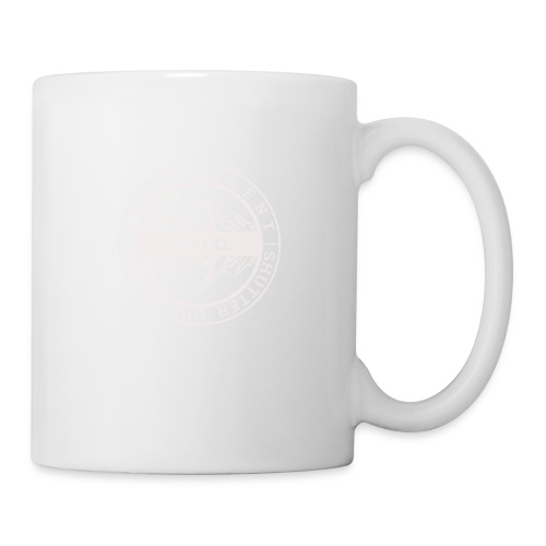 ISO Co. White Classic Emblem - Coffee/Tea Mug