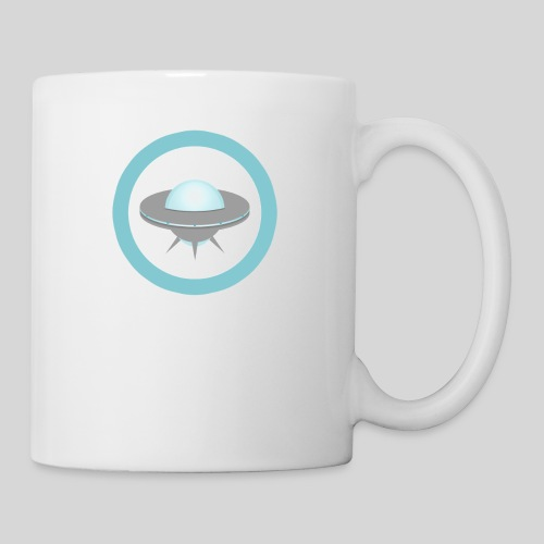 ALIENS WITH WIGS - Small UFO - Coffee/Tea Mug
