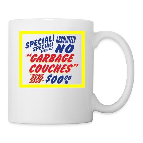 Bunz Home Zone Loyal Larry Garbage Couch - Coffee/Tea Mug