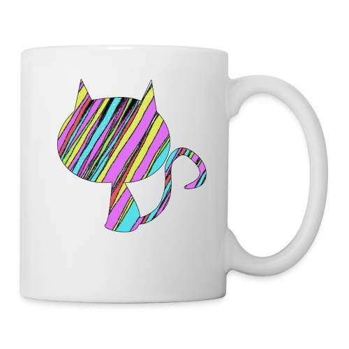 The Skis Cat - Coffee/Tea Mug