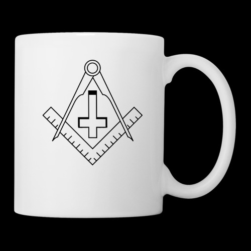 FreemasonCrossBlack - Coffee/Tea Mug