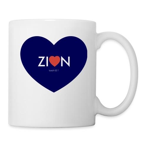 Zion in my heart/ I Won't Keep Silent - Coffee/Tea Mug