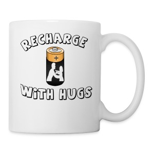 Recharge with hugs - Coffee/Tea Mug
