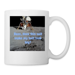 Does this Spacesuit make my butt look big? - Coffee/Tea Mug