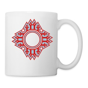 New Mexico Zia Symbol Streetwear - Coffee/Tea Mug