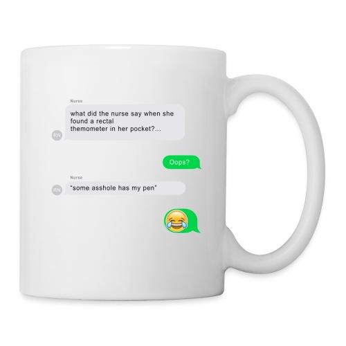FUNNY NURSE JOKE - Coffee/Tea Mug