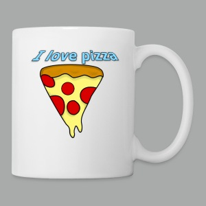 I love pizza - Tasse