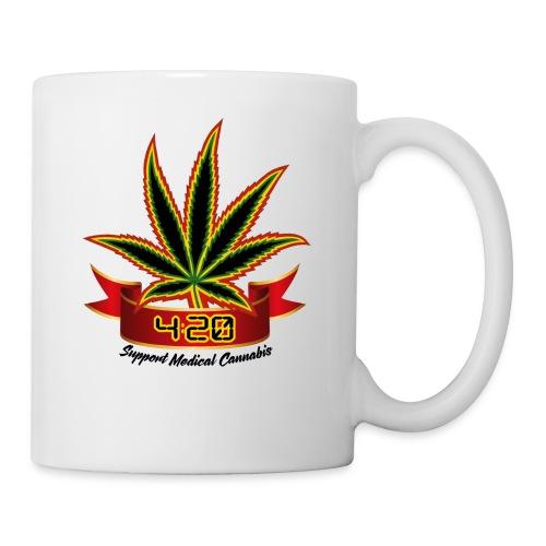support_medical_cannabis_420 - Coffee/Tea Mug