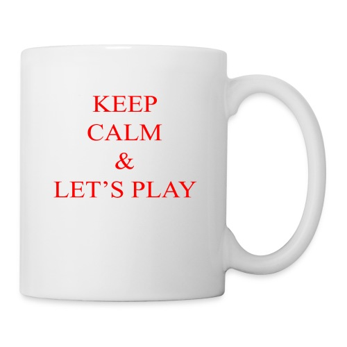 Keep Calm & Let's Play Merch - Coffee/Tea Mug