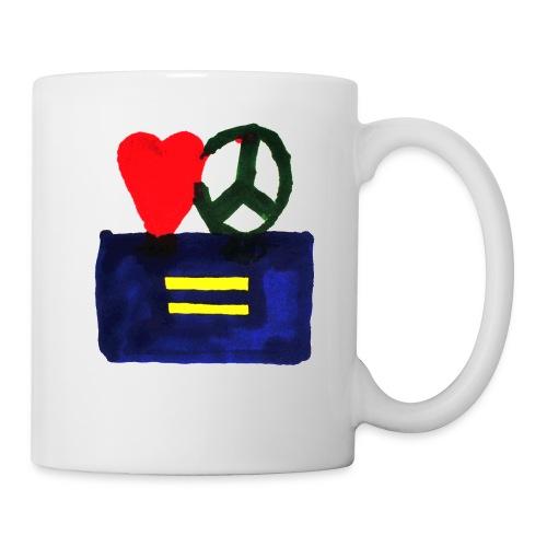 Peace, Love and Equality - Coffee/Tea Mug