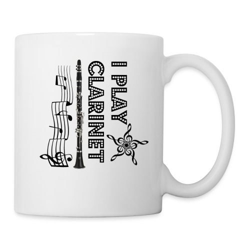 i play clarinet - Coffee/Tea Mug