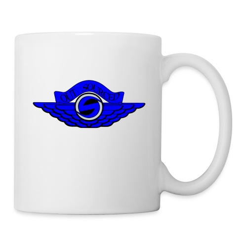 OUTSOURCEDx Jordan Wings inspired - Coffee/Tea Mug