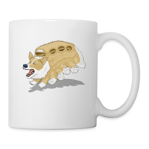 Corgbus: Jump inside for a Very Furry Ride. - Coffee/Tea Mug