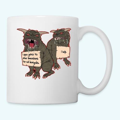 Demonic Terror Dog-Shaming - Coffee/Tea Mug