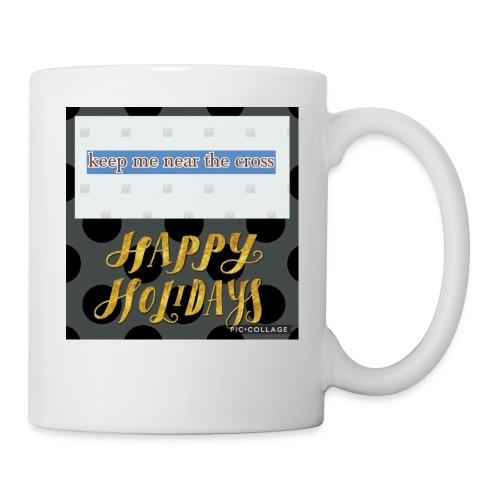 keel me near the cross poster - Coffee/Tea Mug