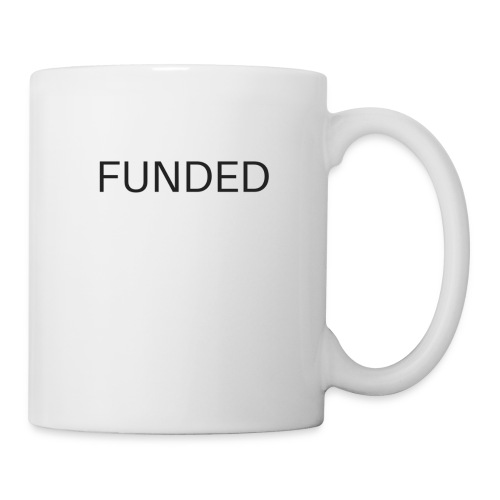 FUNDED Black Lettered T - Coffee/Tea Mug
