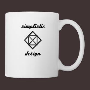 Simplistic Design Logo With Text - Coffee/Tea Mug