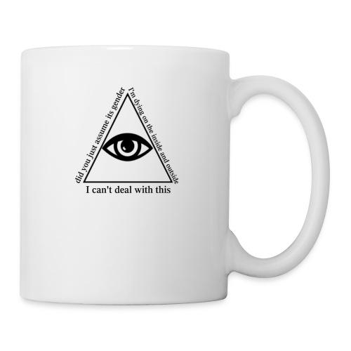 white_eye_w - Coffee/Tea Mug