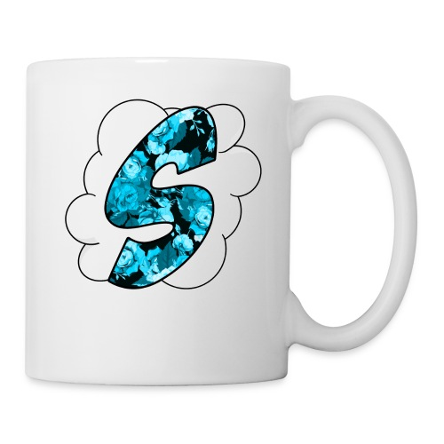 Skyz Blue Floral - Coffee/Tea Mug