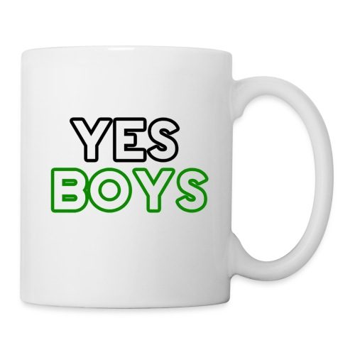 MERCHANDISE Yes Boys Campaign - Coffee/Tea Mug