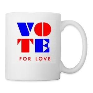 vote4love-sample - Coffee/Tea Mug