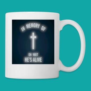 Oh wait he's alive - Coffee/Tea Mug