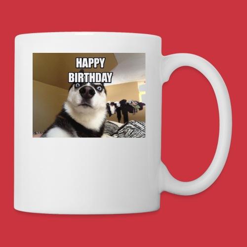 happy birthday - Coffee/Tea Mug
