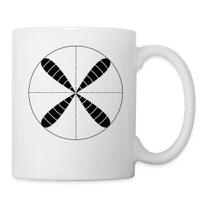 Polar Crosshairs - Coffee/Tea Mug