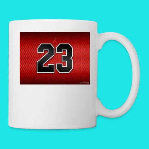 Jordan_Bulls_Jersey - Coffee/Tea Mug
